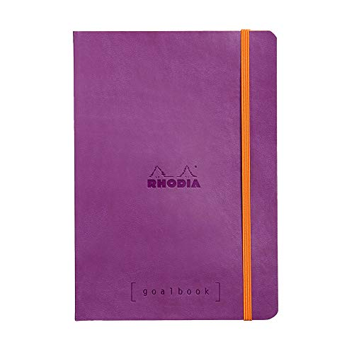 Rhodia Goalbook Journal, A5, Dotted - Purple