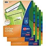AVERY 8-Tab Plastic...