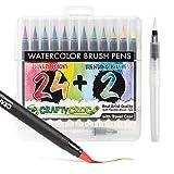 Watercolor Brush Pens -...