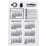 SIXQJZML Mixed Calendar...