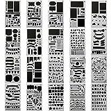 20 PCS Journal Stencil...