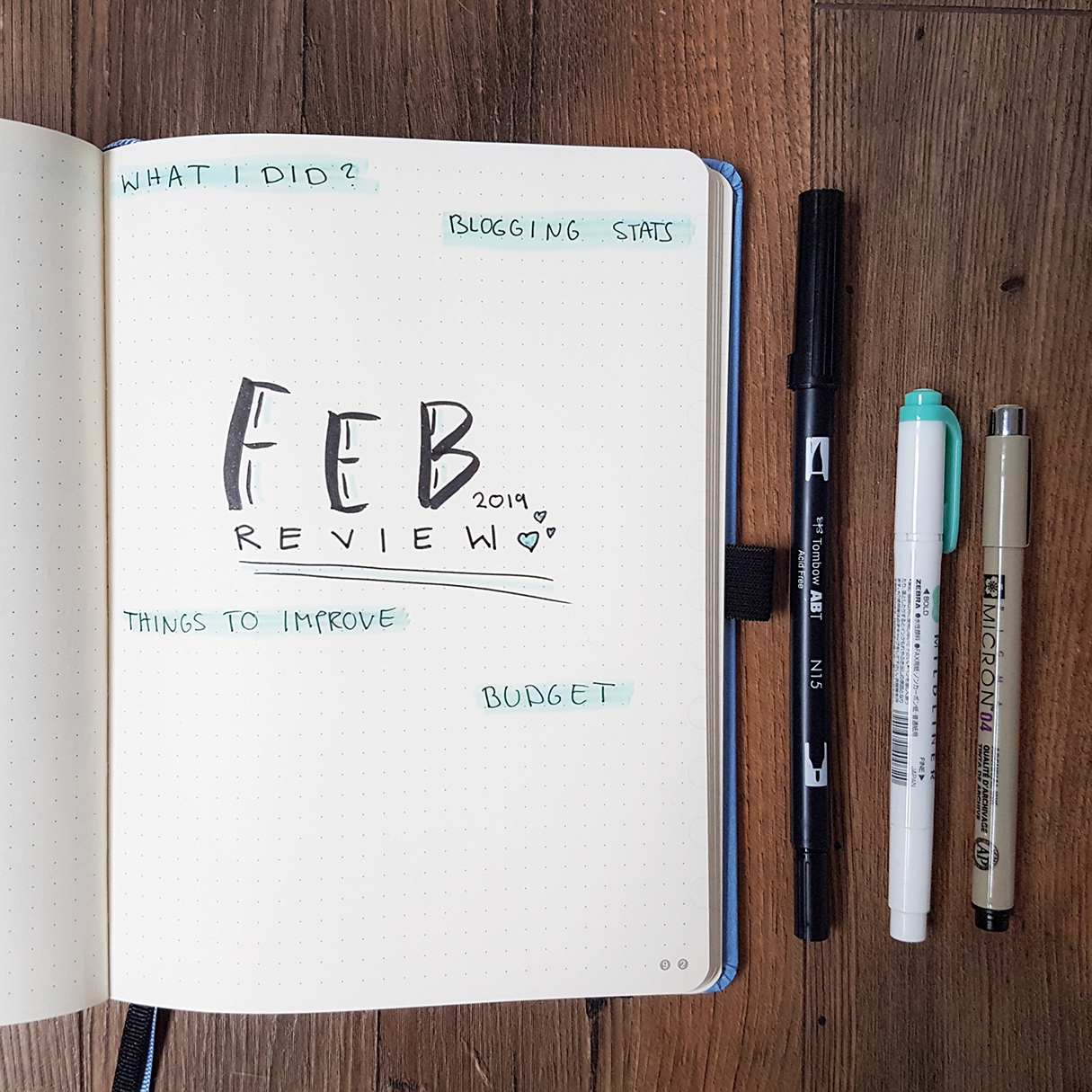 bullet-journal-work-blog-business-collections