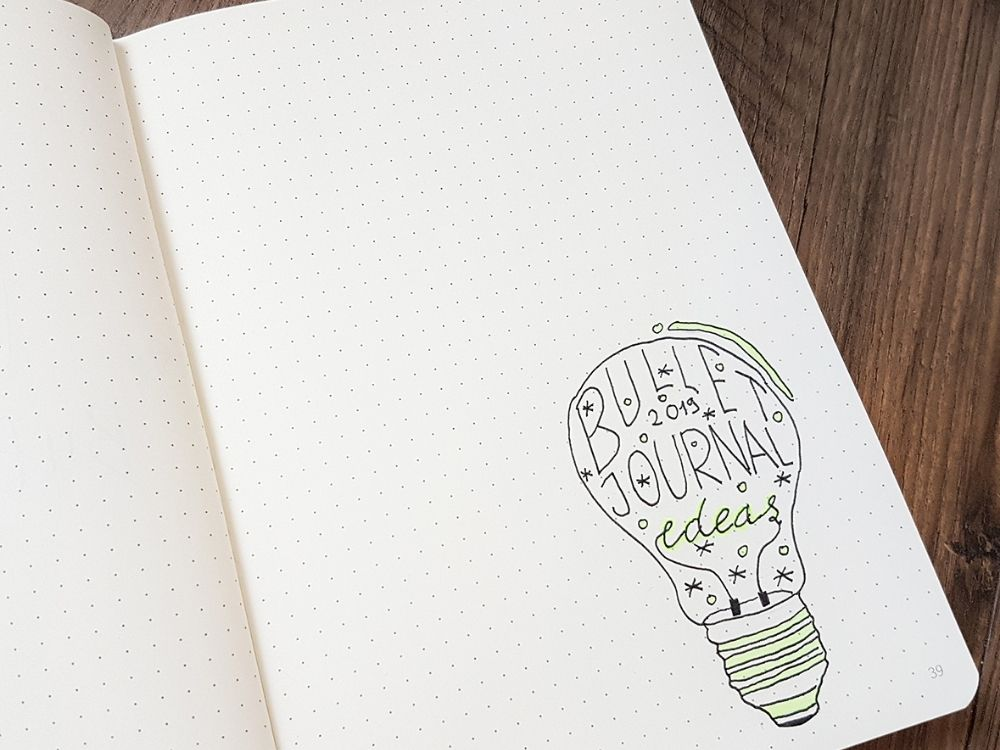 doodle lightbulb