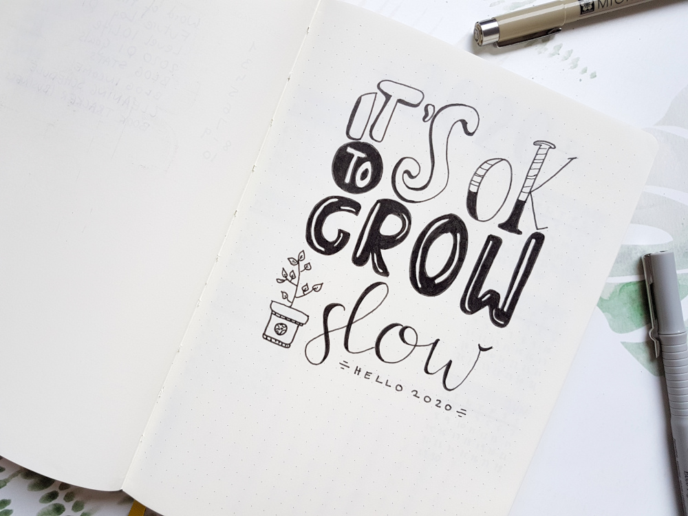 Quote it is ok to grow slow