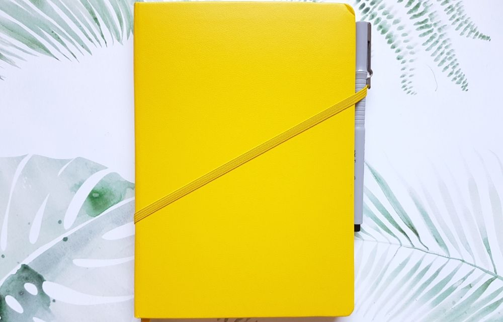 notebook Leichtturm 1917 yellow