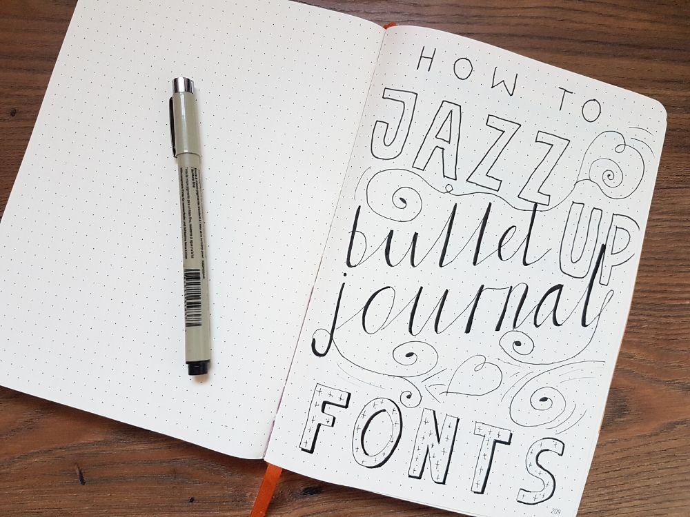 bujo font ideas