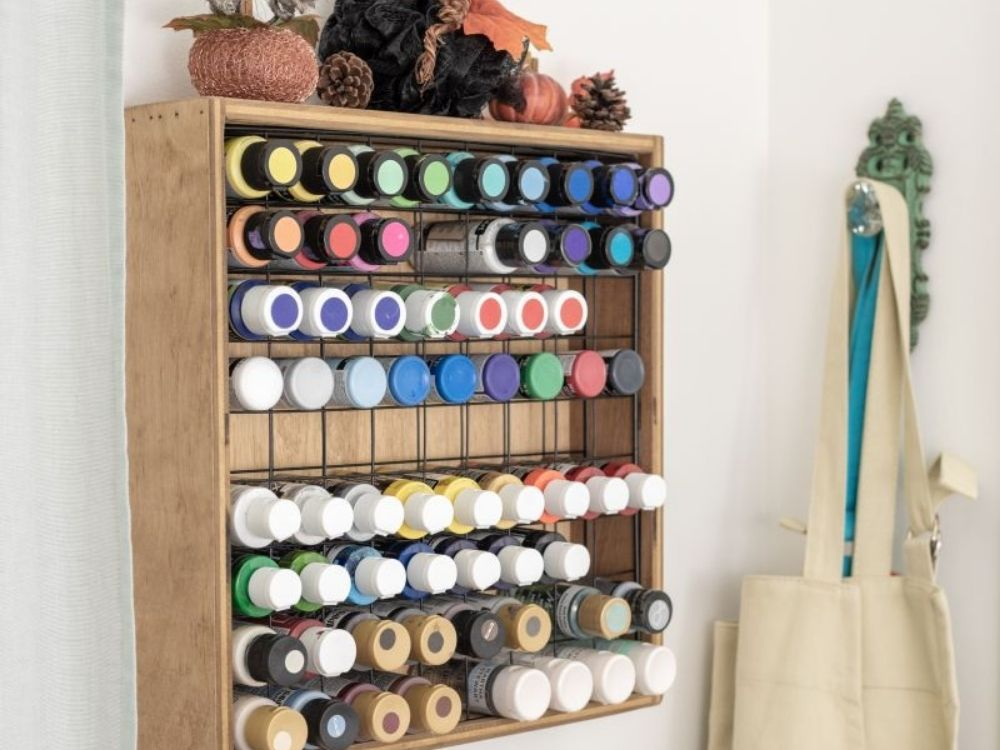 diy project paint organizing