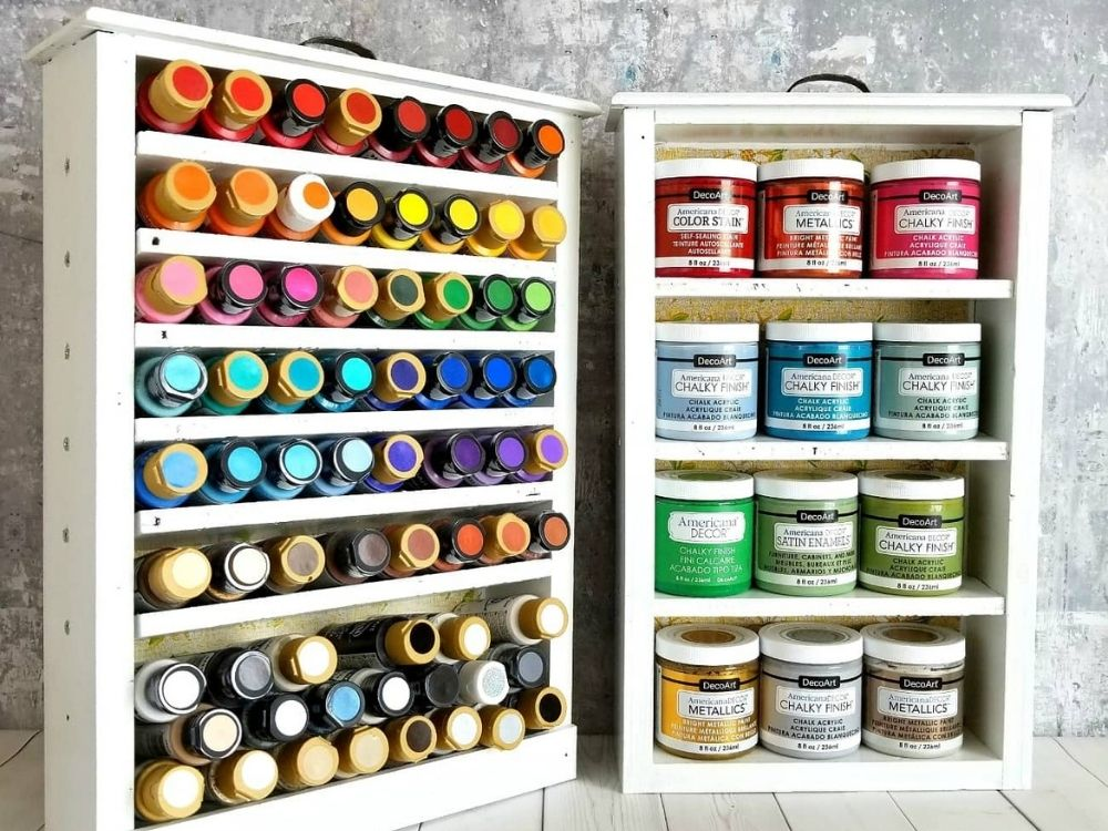 paint storage small spaces