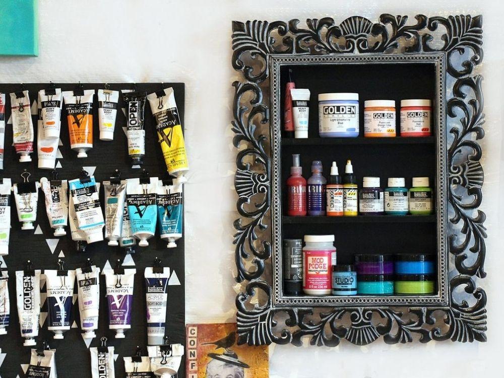 paint storage ideas