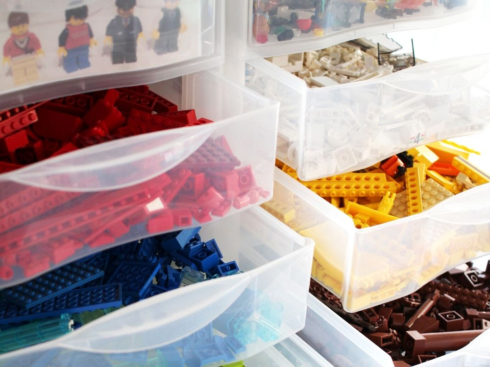 containers for legos