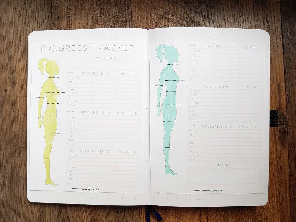 progress tracker printable