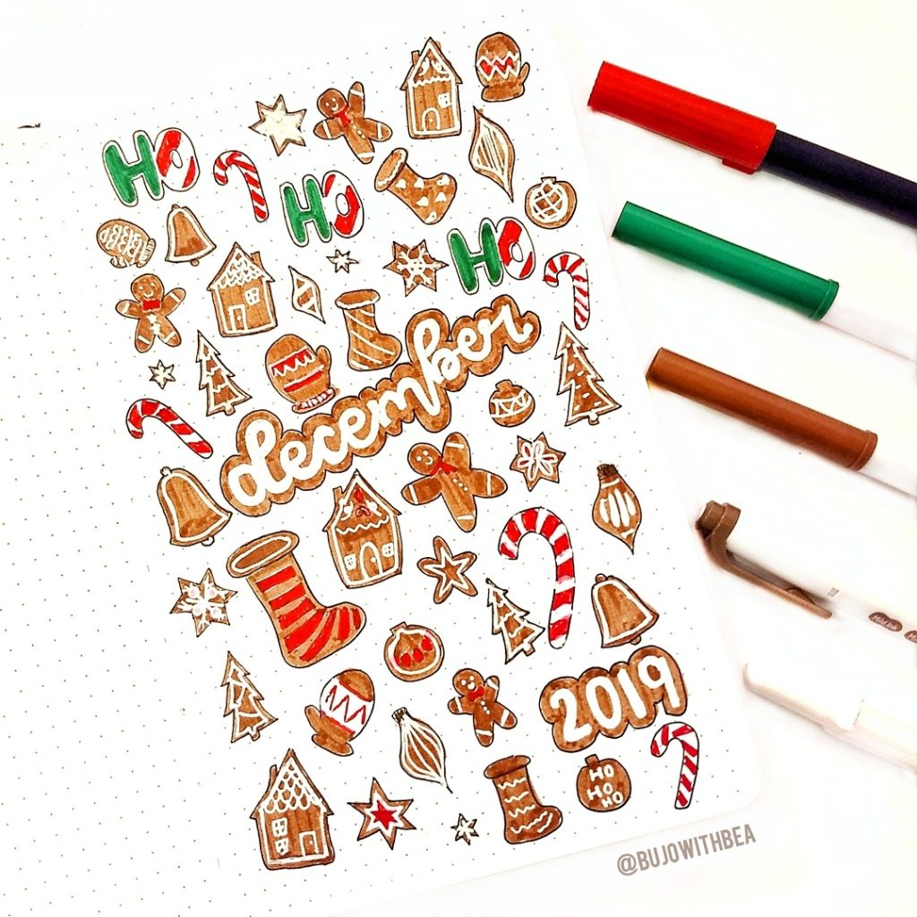december gingerbread cover page