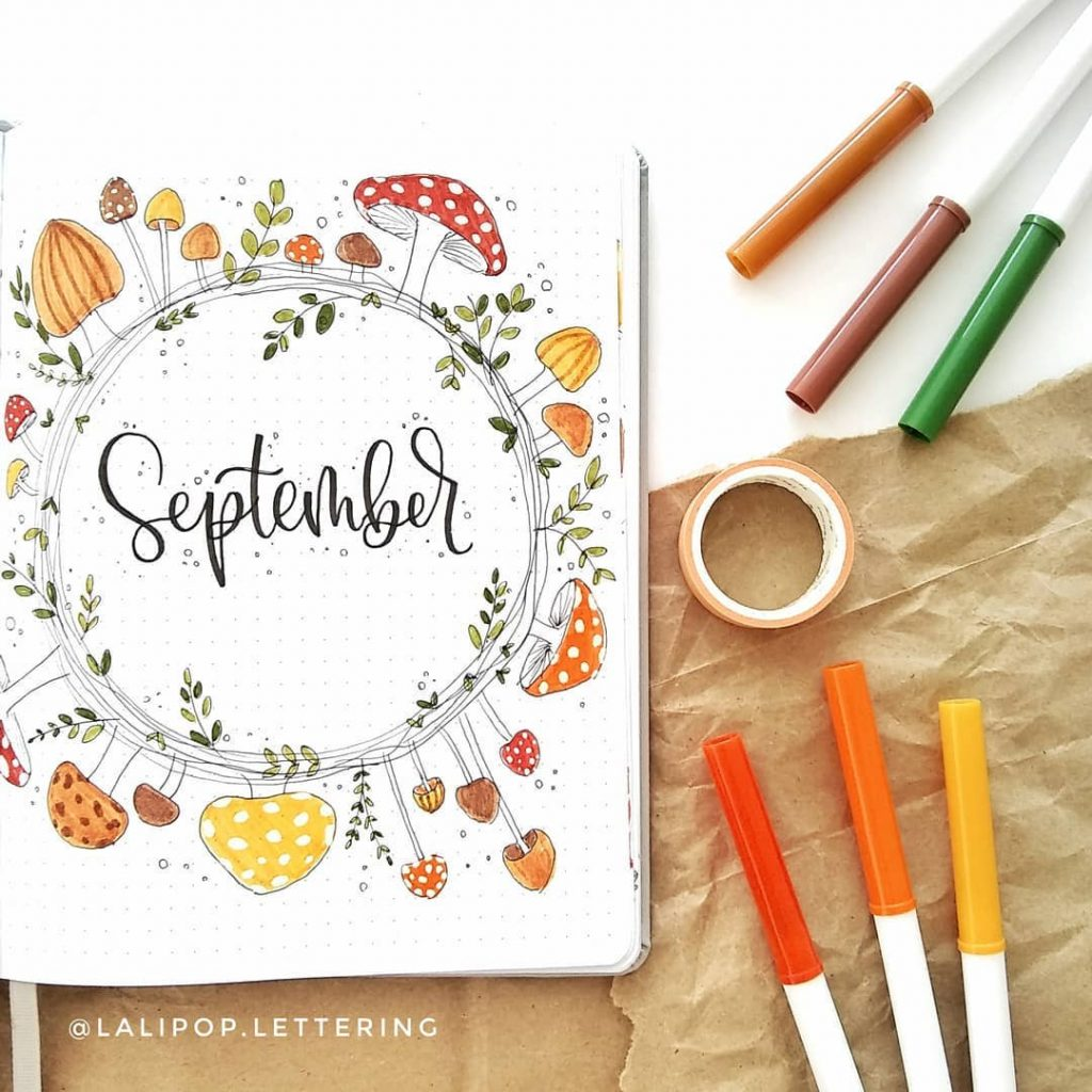 Fall Monthly Cover Spread