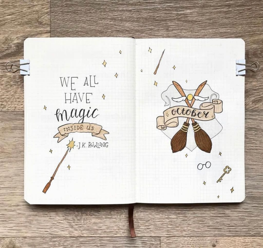 harry potter quote hello page
