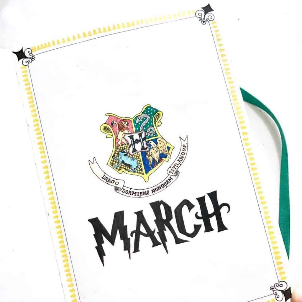 harry potter march hello page