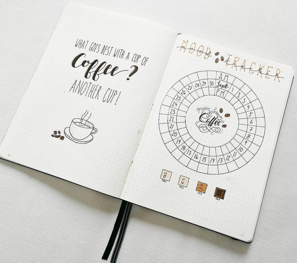 circle simple mood tracker