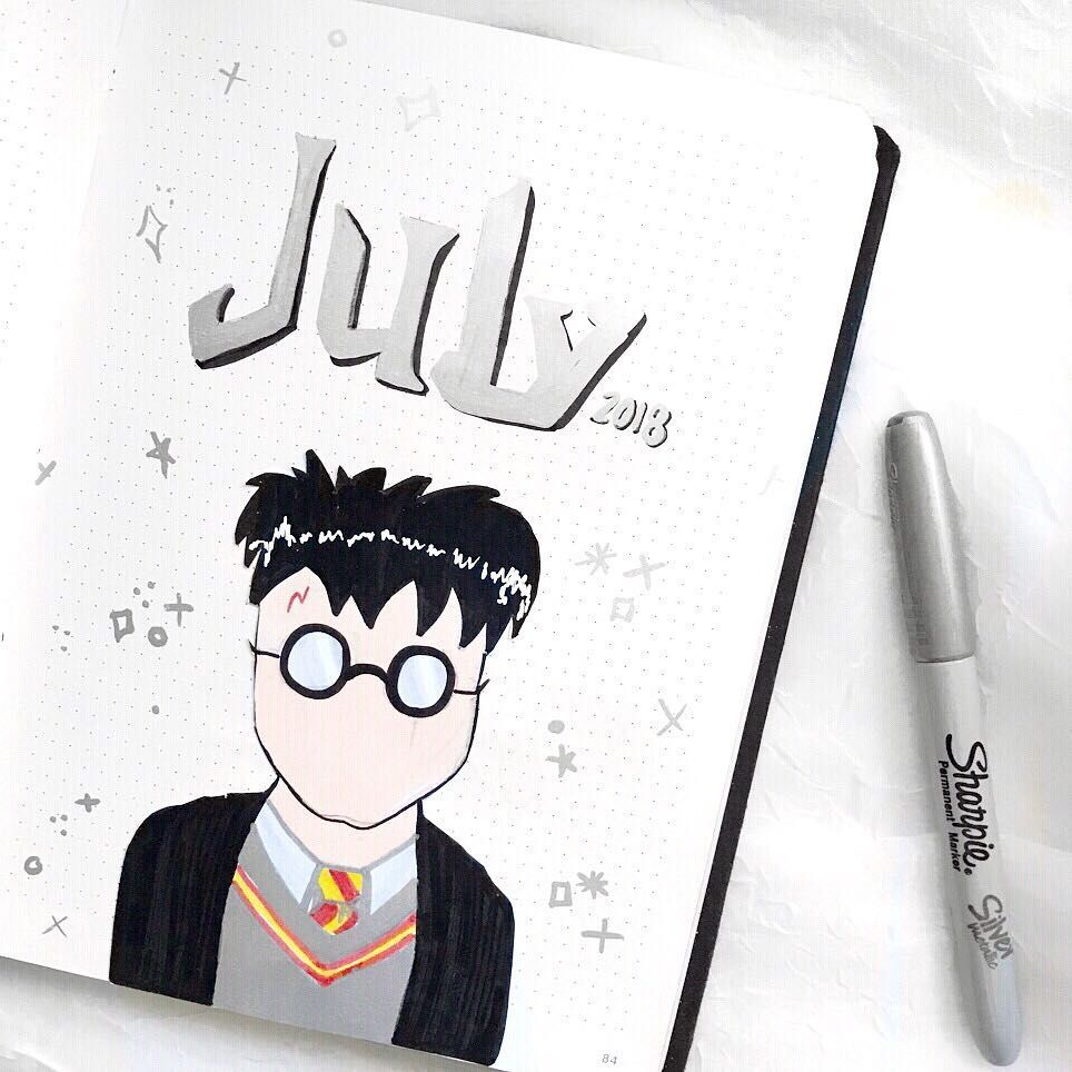 july harry potter character page
