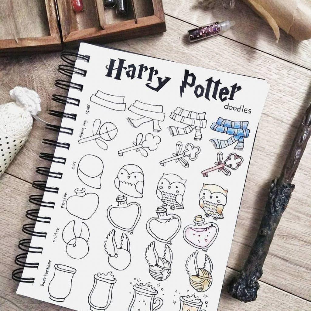 harry potter drawings tutorials