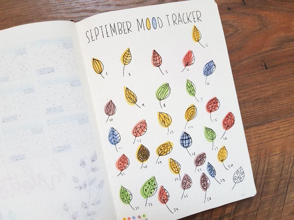 september mood tracker