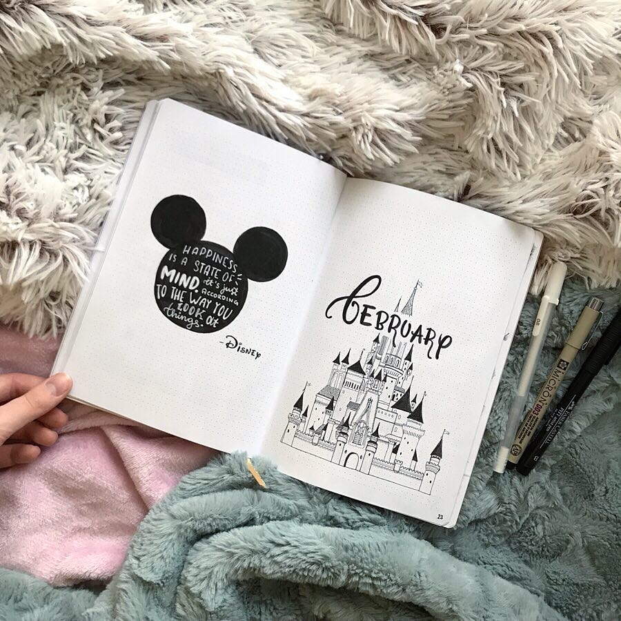 mickey mouse disney bujo quotes