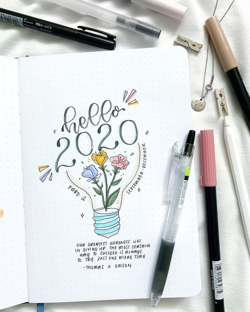 aesthetic bullet journal quotes
