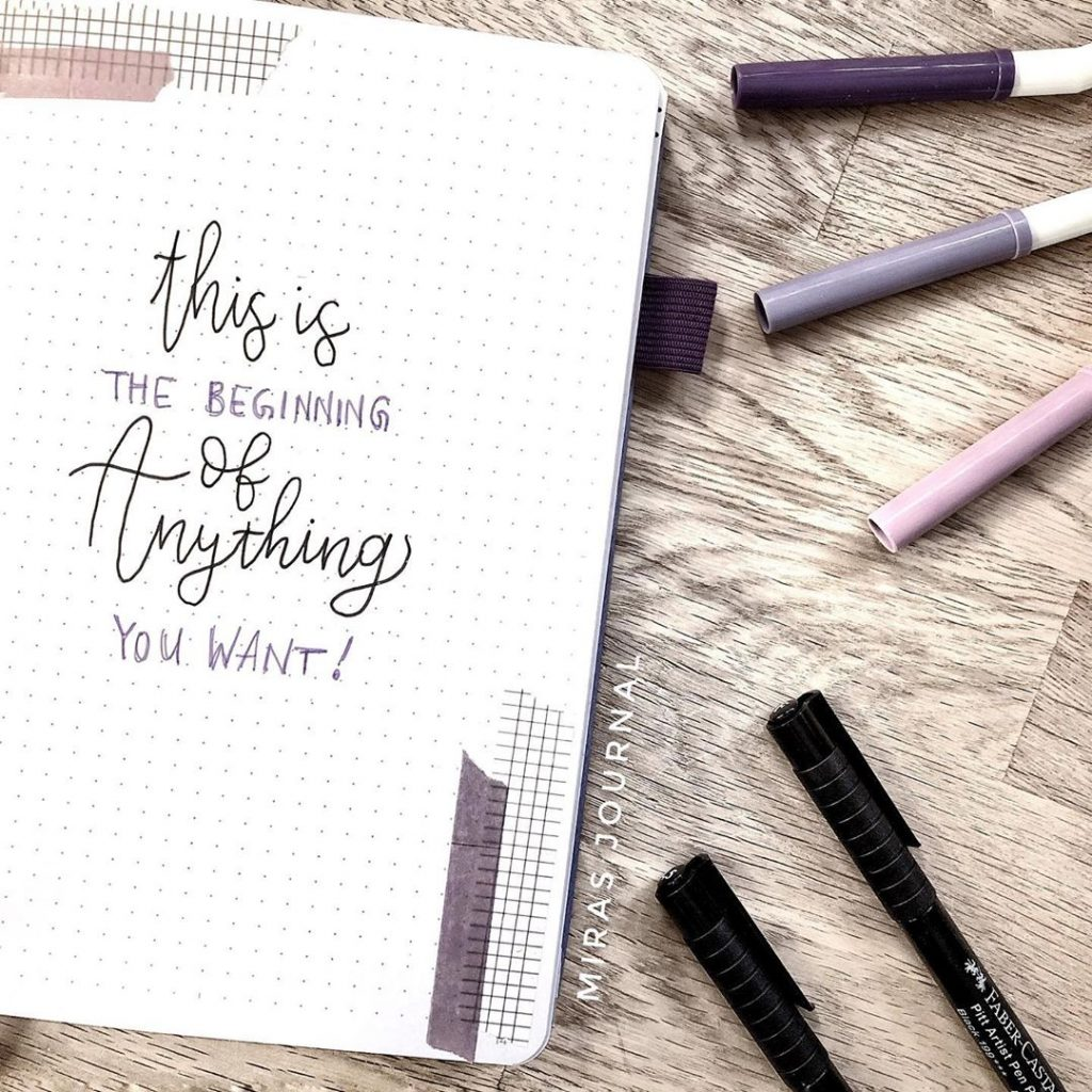 bullet journal quotes ideas