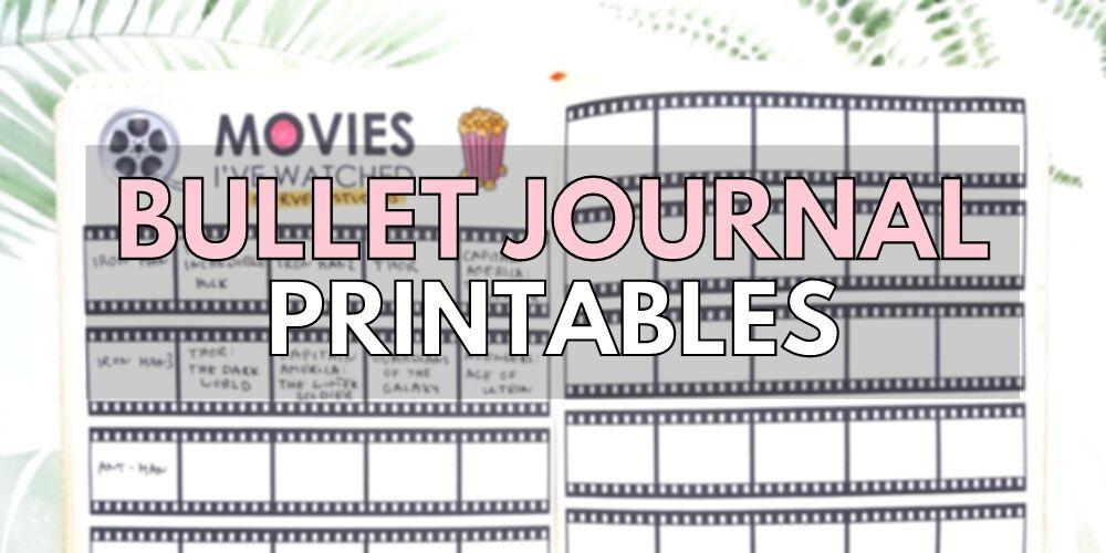 bullet journal 101 templates