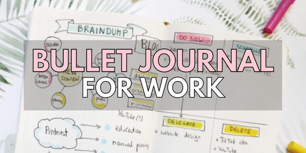 bullet journal 101 professional planner