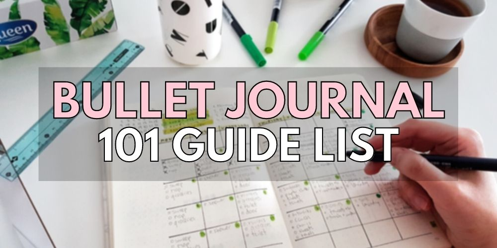 bullet journal 101 guides