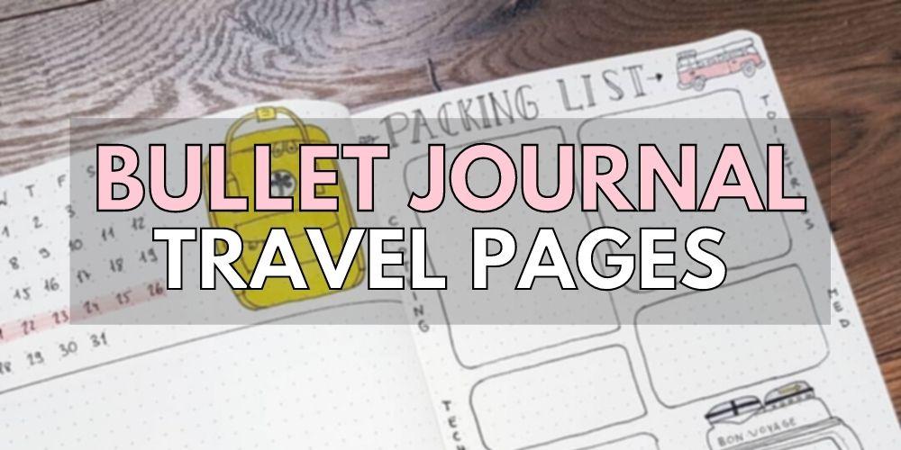travel diary ideas